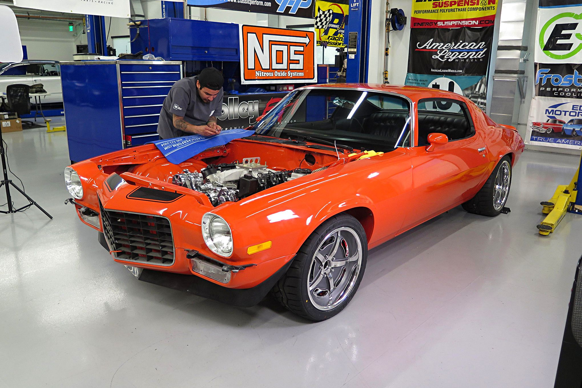 WEEK TO WICKED - 1972 CHEVY CAMARO - American Legend