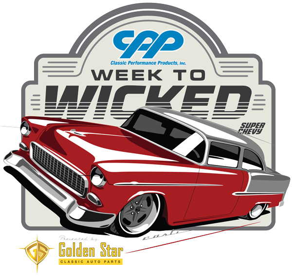 Week To Wicked 1955 Chevy American Legend